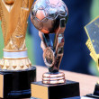 Stock Photo: Simple soccer trophies