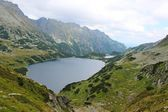 Mountains Tatry at Poland - valley of five ponds — Stock Photo