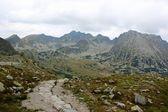 Monti tatry in polonia - valle di cinque stagni — Foto Stock