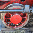 Wheels of Steam Locomotive  — Foto de Stock