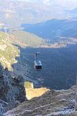 Mostra da kasprowy wierch nei monti tatra, polonia — Foto Stock