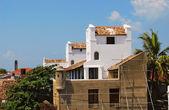 Fortress Galle, Sri Lanka, white houses — Stock Photo
