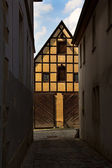 Rothenburg ob der Tauber, old house — Stock Photo