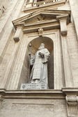 Statue of Saint Maroun, Saint Peter's Basilica — Stock Photo