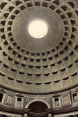 Interior view of the Pantheon in Rome, Italy. — Stock Photo