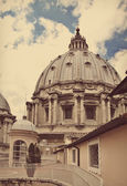 Dome of Saint Peter's Basilica, Vatican City, Italy — Stockfoto
