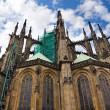The Saint Vitus cathedral in Prague, Czech Republic  — Stock Photo