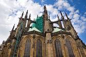 La cathédrale Saint-Guy à prague, République tchèque — Photo