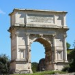 The Arch of Titus at Forum Roman, Rome, Italy — Stock Photo