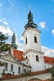 PRAGUE, CZECH REPUBLIC - APRIL 13: Strahov Monastery, Prague, C — Stock Photo