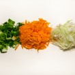 Scallons , carrot , cabbage — Stock Photo #31942641