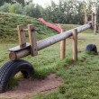 Stock Photo: Seesaw