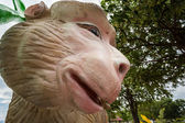 Statue monkey — Stock Photo