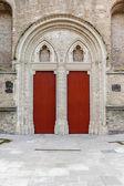 Doors church — Zdjęcie stockowe