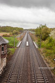 Railway — Стоковое фото