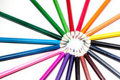 Color pencil — Foto Stock