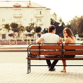 Couple in love — Foto de Stock