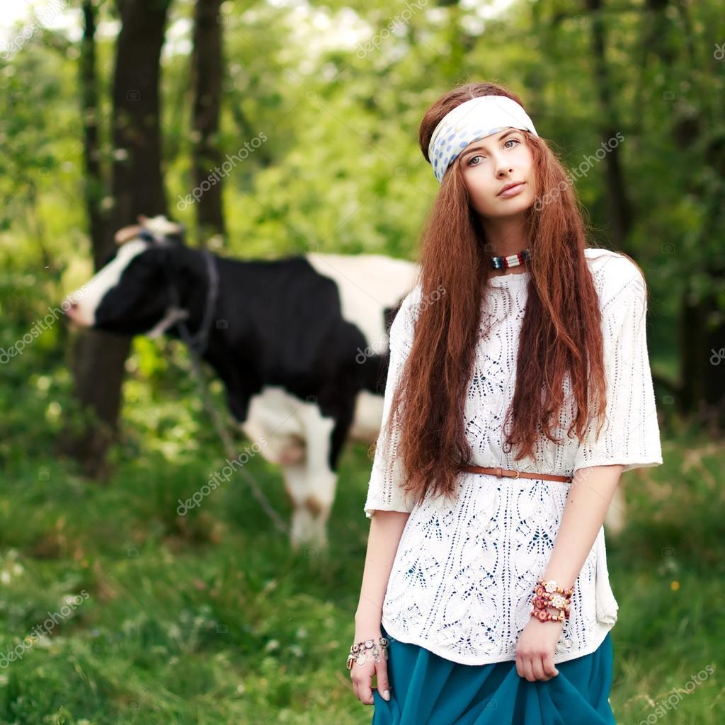 Young hippie girl photos 3
