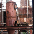 Stock Photo: Rusty Vats I