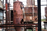 Rusty Vats I — Stock Photo