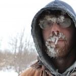 Frosty Man 5 — Stock Photo