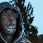 Frosty man 1 — Stockfoto
