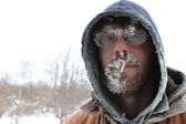 Frosty Man 5 — Stock Photo