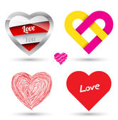 Love concept object. — Stock Vector