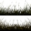 Background of realistic meadow grass. — Stock Vector #21067355