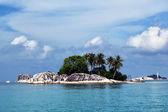 White rocks island at belitung, indonesia — Stock Photo