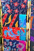A variação da pintura batik, volta à terra — Foto Stock