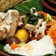 Gudeg central java cuisine — Stock Photo