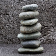 The balance stone - Stock Photo