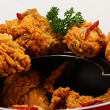 fried chicken — Stock Photo