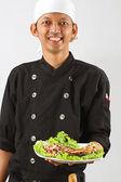 Chef smile — Stock Photo