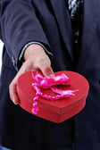 Valentine gift — Stock Photo