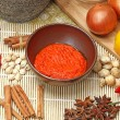 Some spices and herbs — Stock Photo