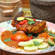 Ayam Bakar Taliwang, Indonesian food — Stock Photo