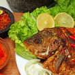 Fried fish — Stock Photo #34515101