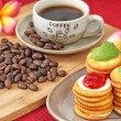 Biscuits for coffee break — Stock Photo