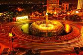 City fountain — Stock Photo