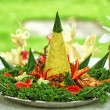 Stock Photo: Nasi Tumpeng, IndonesiCuisine