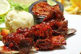 Indonesische küche — Stockfoto