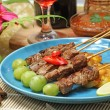 Beef satay — Stock Photo #39742527