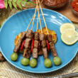 Beef satay — Stock Photo #39742599