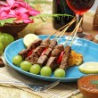 Beef satay — Stock Photo #39742659