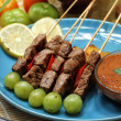 Beef satay — Stock Photo #39742745
