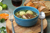 Ribs soup — Stock Photo