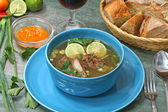 Rippen-Suppe — Stockfoto
