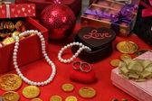 Valentines objecten — Stockfoto